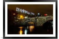 Durham Lumiere 2015, Framed Mounted Print