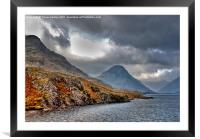 The Lakes - Wast Water, Framed Mounted Print