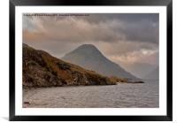 Wastwater - Wasdale Head, Framed Mounted Print