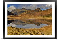 Reflections - Lake District, Framed Mounted Print