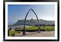Whitby North Yorkshire, Framed Mounted Print