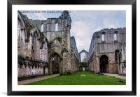 Fountains Abbey, Framed Mounted Print