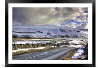 Winter in the Dales, Framed Mounted Print