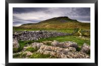 PenY-Ghent, Yorkshire Dales, Framed Mounted Print