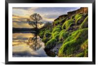 Along The Banks Of The River Lune, Framed Mounted Print