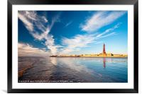 Blackpool Tower Reflections, Framed Mounted Print