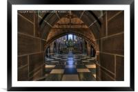 Lady Chapel, Liverpool, Framed Mounted Print