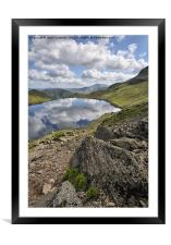 Stickle Tarn Views, Framed Mounted Print