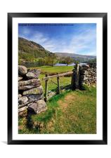 Rydalwater, Framed Mounted Print