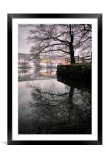 Coniston Reflections, Framed Mounted Print