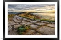 The Great Ridge, Derbyshire, Framed Mounted Print
