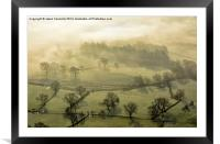 The Valley Of Mist, Framed Mounted Print