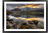 Wastwater, Cumbria, Framed Mounted Print