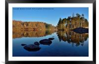 Tarn Hows Cumbria, Framed Mounted Print