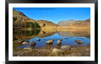 Blea Tarn, Little Langdale, Framed Mounted Print