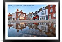 Weymouth Reflections, Framed Mounted Print