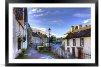 The High Street from East Terrace, Framed Mounted Print