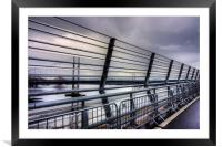View from the Queensferry Crossing, Framed Mounted Print