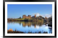 Linlithgow Loch View, Framed Mounted Print