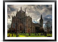 Dunfermline Abbey Church, Framed Mounted Print