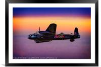 Lancaster at Dawn, Framed Mounted Print