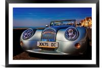 A Morgan By The Sea, Framed Mounted Print