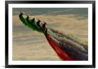 Frecce Finale, Framed Mounted Print