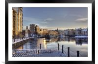On A Winter's Day, Framed Mounted Print