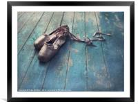 danced, Framed Mounted Print