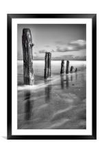 Washed Away, Framed Mounted Print