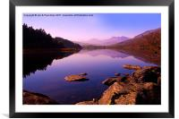 Capel Curig, Framed Mounted Print