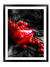 Taste Me, Framed Mounted Print