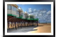 St Annes Pier End, Lytham, Framed Mounted Print