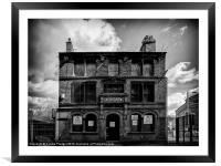 The Old Pub, Framed Mounted Print