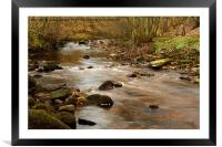 MUKER WATERS, Framed Mounted Print