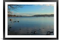 CLEAR LAKE, Framed Mounted Print