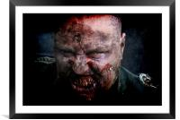 Zombie General II, Framed Mounted Print