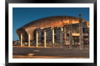 Wales Millennium Centre, Framed Mounted Print