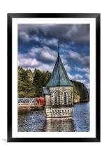 The Valve Tower, Framed Mounted Print