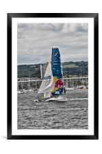 Extreme 40 Team Red Bull, Framed Mounted Print
