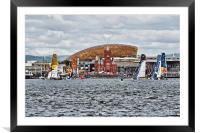 Extreme 40 At Cardiff Bay, Framed Mounted Print