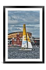 Extreme 40 Team SAP Extreme Sailing, Framed Mounted Print