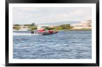 P1 Powerboats Team Wales 2, Framed Mounted Print
