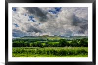 Penyfan View, Framed Mounted Print