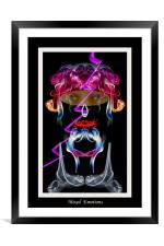 Mixed Emotions, Framed Mounted Print