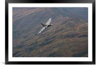 Vulcan Flypast at Ambleside, Framed Mounted Print