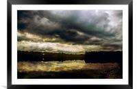 Storm on the Broads, Framed Mounted Print