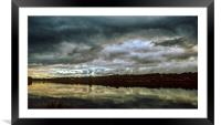 Storm Approaching, Framed Mounted Print