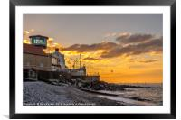 Sheringham Sunset, Framed Mounted Print