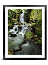 Springtime at Lumsdale, Framed Mounted Print